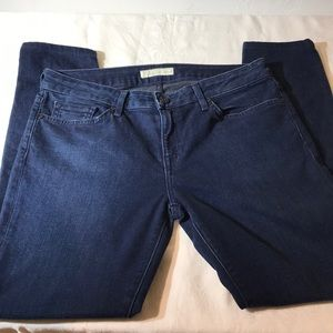 Joie Mid Rise Skinny Jeans.
